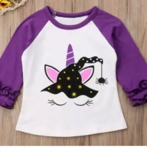 Other - Witch Ruffle Halloween Baseball T Shirt